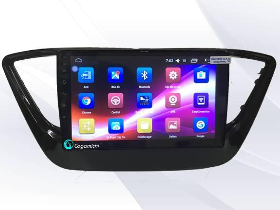 Màn hình DVD Android cho xe Hyundai Accent