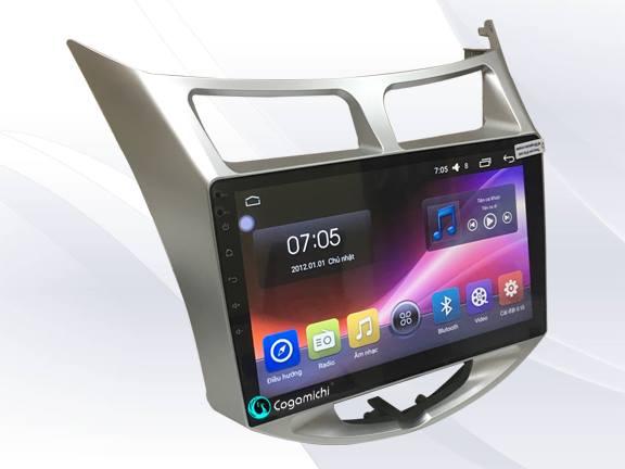 Màn hình DVD Android cho xe Accent