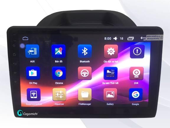 Màn hình DVD Android cho xe Ford Ecosport SIM 4G
