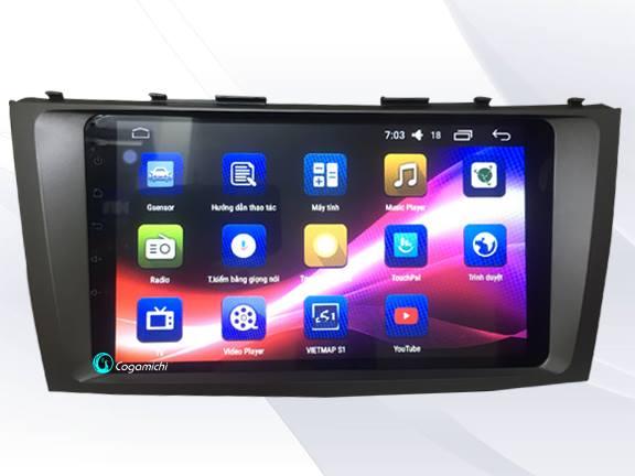 Màn hình DVD Android cho xe Camry 2010