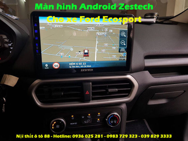 Man hinh Android Zestech cho xe Ford Ecosport