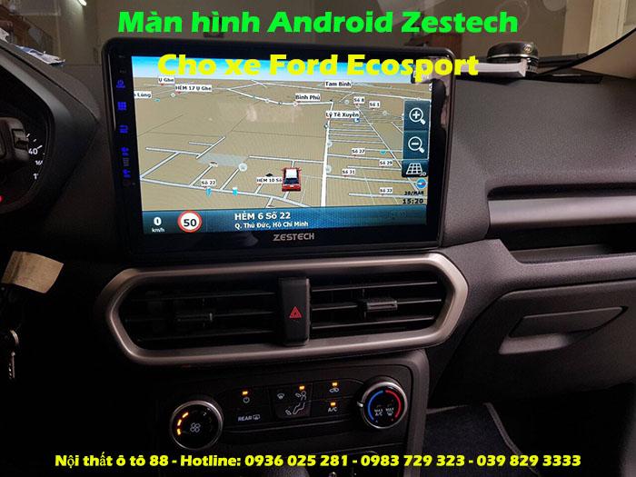 Màn hình Android Zestech Z800 cho xe Ford Ecosport