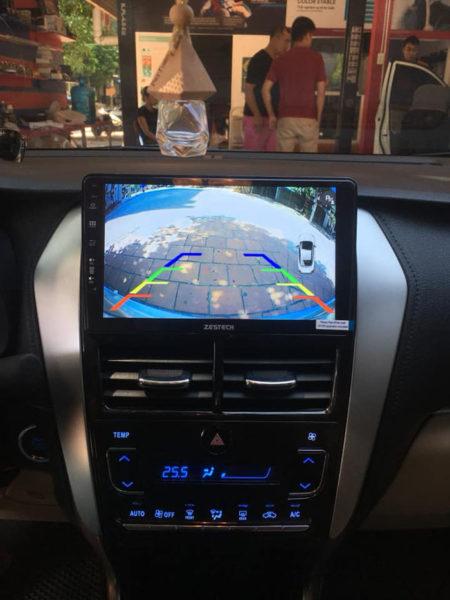 Man hinh Android Zestech cho xe Toyota Vios