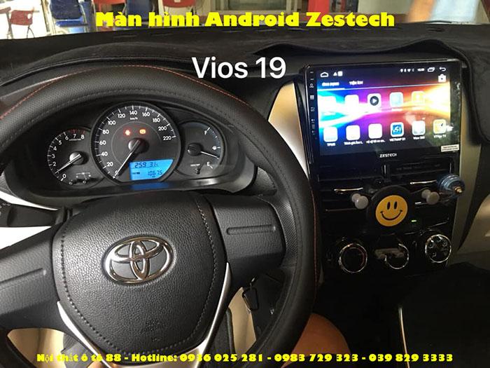 Màn hình Android Zestech cho xe Toyota Vios 2019