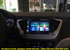Man hinhZestech cho xe Hyundai Accent