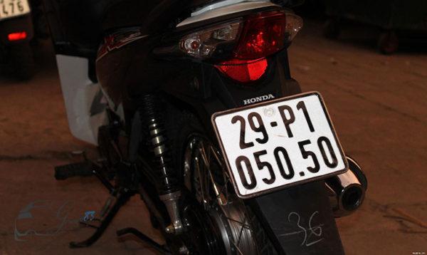 biển số xe máy tại Hà Nội