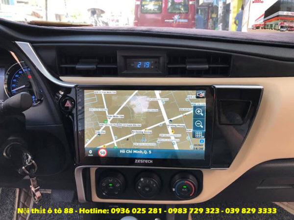 lap dat Zestech cho xe Altis 2019