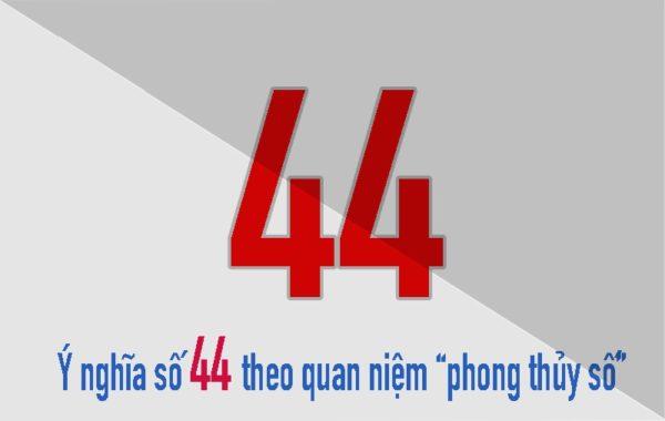 ý nghĩa biển số xe 44