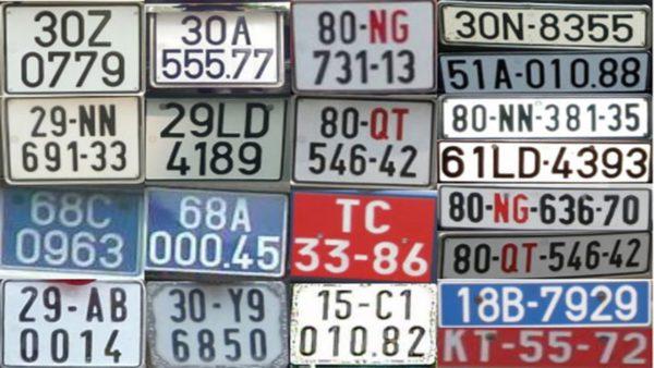 Biển số xe là gì