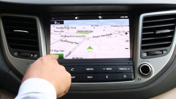Cách sử dụng hệ thống chỉ đường Vietmap trên ô tô
