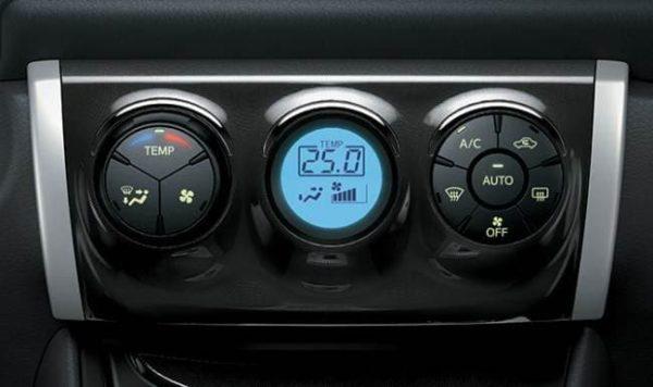 Hệ thống điều hòa trên xe Vios