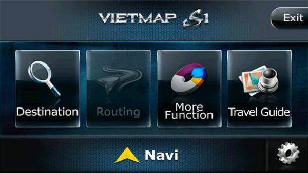 cập nhật bản đồ Vietmap cho ô tô