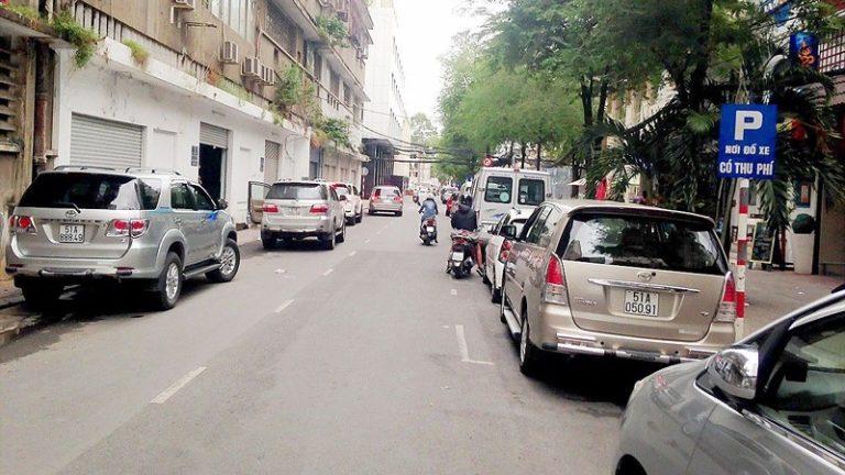 quy định dừng đỗ xe ô tô