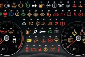 ý nghĩa các đèn cảnh báo trên bảng táp lô xe tô