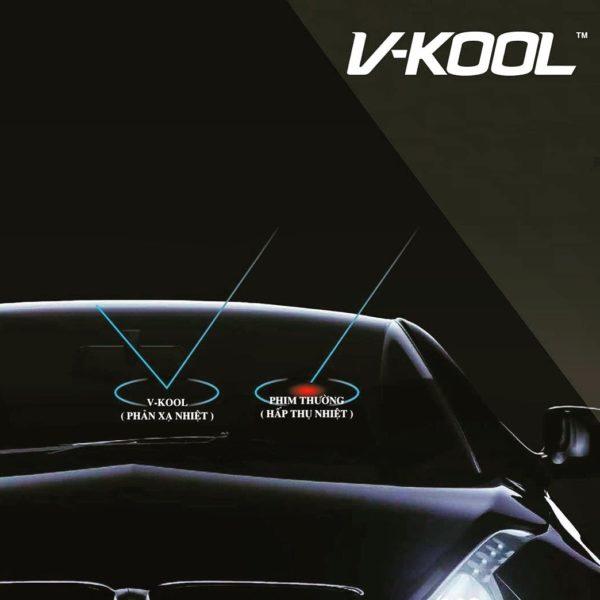 Phim cách nhiệt Vkool cho xe porsche