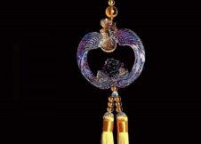 Ngọc bội phong thủy- Phượng Hoàng Mẫu Đơn