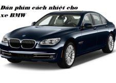 Dán phim cách nhiệt cho xe BMW
