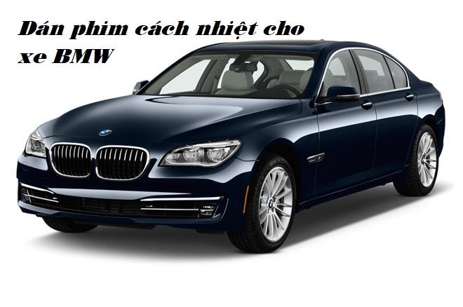Dán phim cách nhiệt cho xe BMW hạng sang