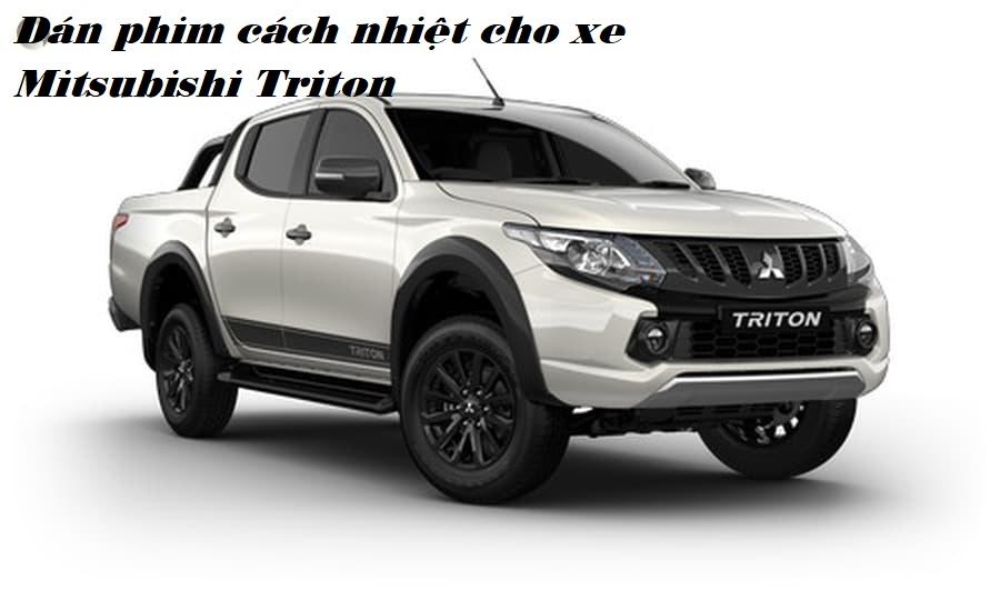 Dán phim cách nhiệt cho xe Mitsubishi Triton