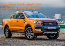 Dán phim cách nhiệt cho xe bán tải Ford Ranger
