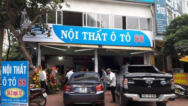 Nội thất ô tô 88 Cơ sở lắp đặt uy tín tại Hà Nội