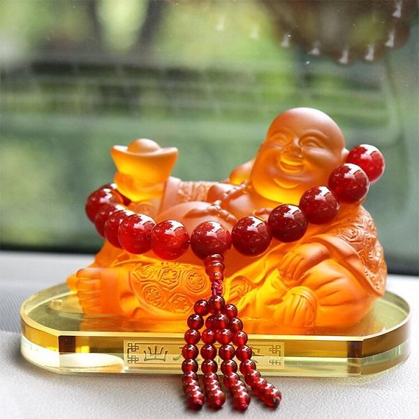 Ngọc bội phong thủy- Phật phát tài