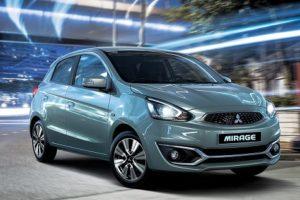 Xe ô tô tiết kiệm nguyên liệu Mitsubishi Mirage