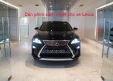 Dán phim cách nhiệt cho xe Lexus
