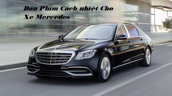 Dán phim cách nhiệt ô tô cho xe Mercedes