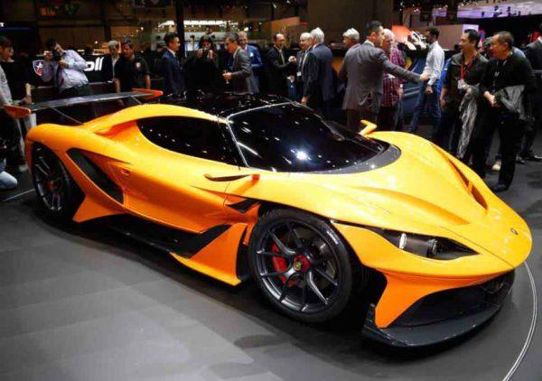 Siêu xe đẹp nhất thế giới Apollo Arrow