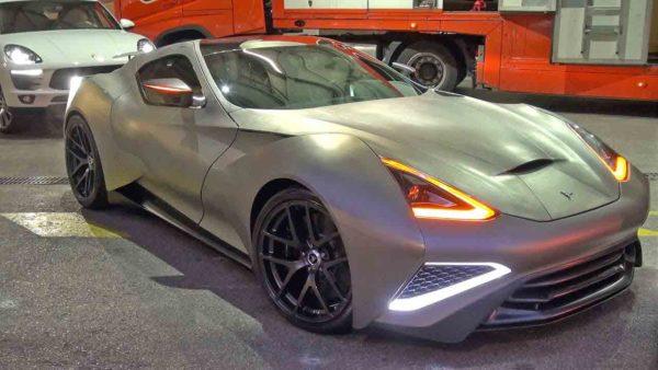 siêu xe đẹp nhất thế giới Icona Vulcano Titanium