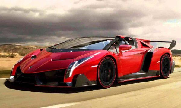 siêu xe khủng đắt nhất thế giới Lamborghini Veneno Roadster