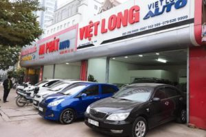 Vietlong Auto chuyên mua bán xe ô tô cũ tại Hà Nội uy tín