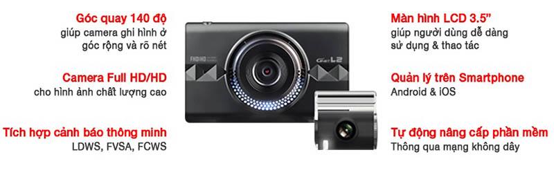 Những tính năng camera hành trình gnet l2