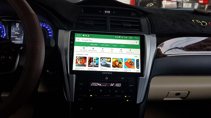 lap man hinh android zestech xe camry