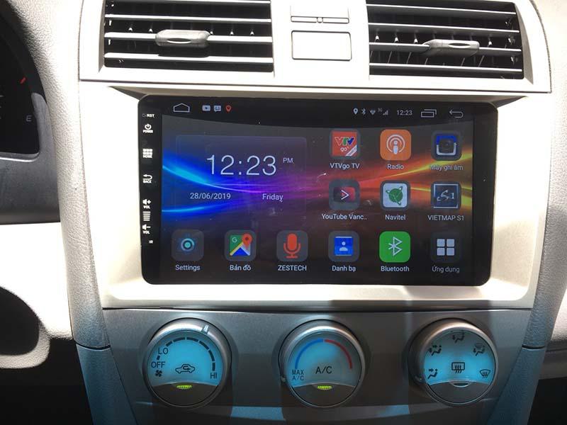 Màn hình Android Zestech cho xe Camry Full tính năng vượt trội