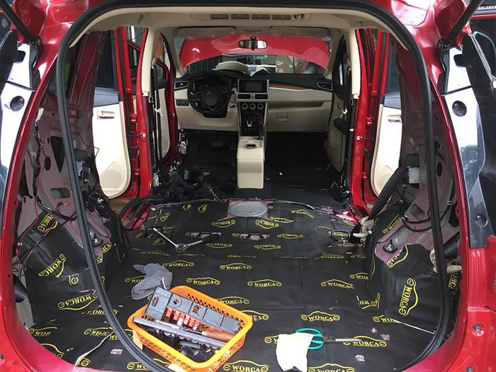 Cách âm Chống ồn cho xe Mitsubishi Xpander