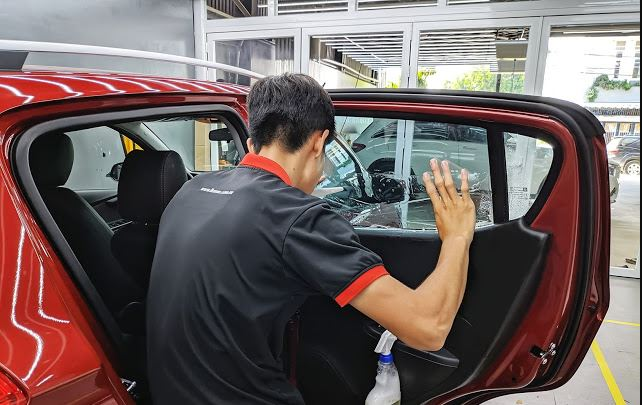 dan phim cach nhiet cho xe Vinfast Fadil 2019