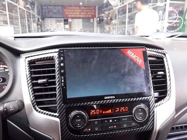 dvd zestech cho xe Mitsubishi Trion
