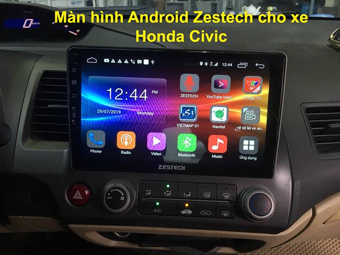Màn hình Android Zestech cho xe Honda Civic