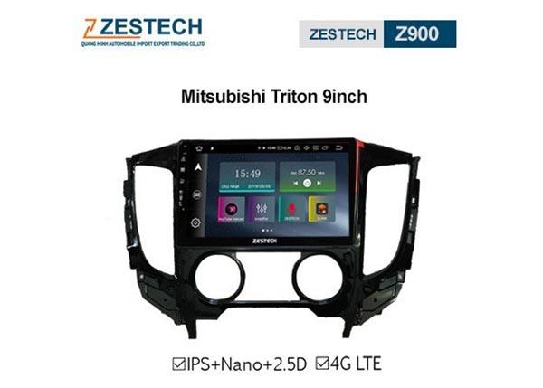 Màn hình Android Zestech cho xe Mitsubishi Trion