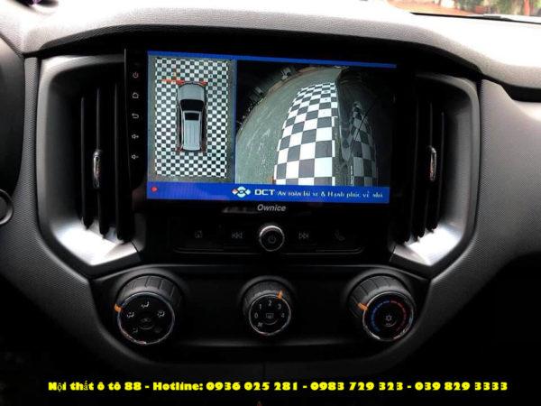 Camera 360 DCT cho xe Colorado