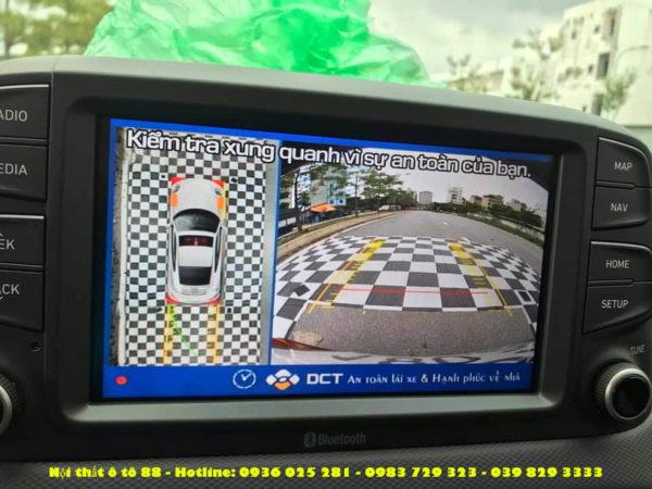 Camera 360 DCT cho xe Hyundai KONA