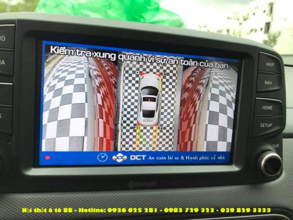 Camera 360 cho xe Hyundai KONA 2019
