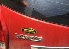 Dan phim cách nhiet 3M Crystalline cho xe Toyota Yaris 2017