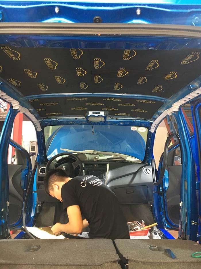 chong on cho xe Celerio 2