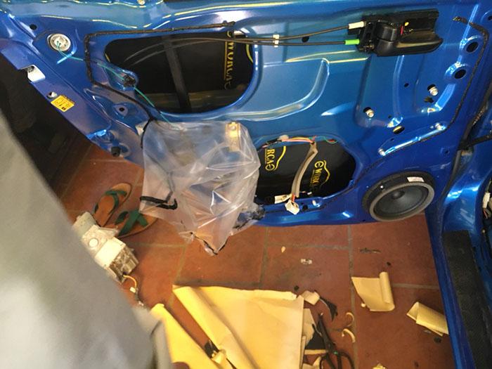 Cách âm chống ồn cho xe Suzuki Celerio