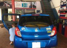 dan phim cach nhiet cho xe Suzuki Celerio