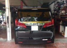 dan phim cach nhiet cho xe Toyota Alphard