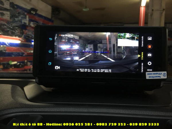 lap Camera hanh trinh taplo cho xe Ranger XLS
